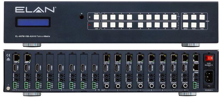 ELAN EL-4KPM-V88-A2416 bij Spark Custom Electronics
